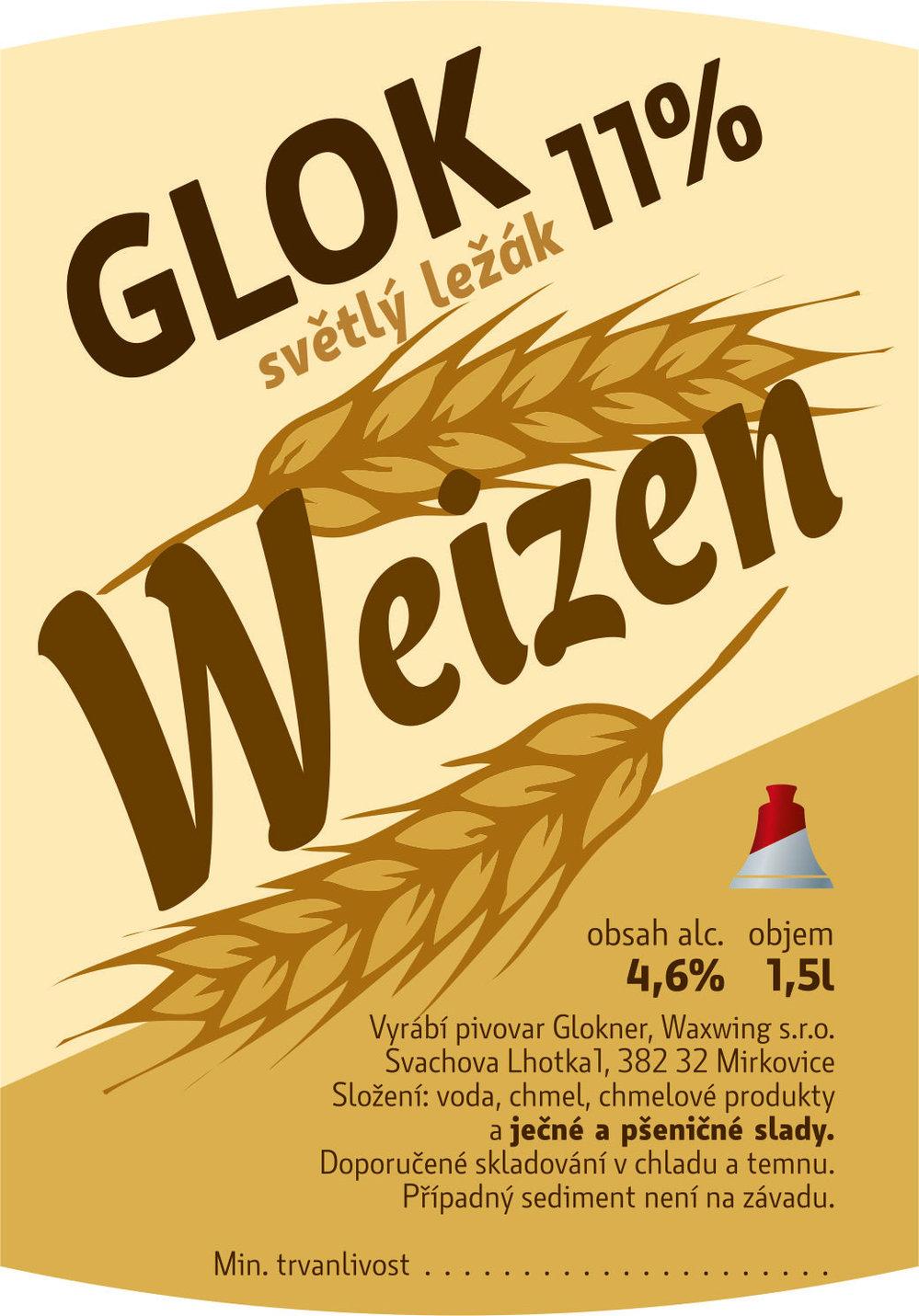 Glok 11 Weizen světlý ležák