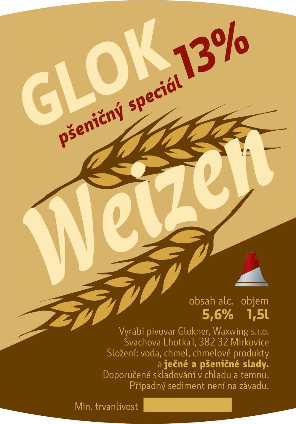 Glok 13 Weizen pšeničný speciál